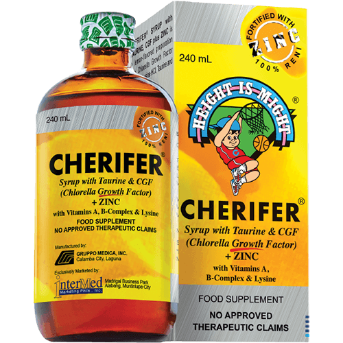 Cherifer Syrup with Taurine & CGF
