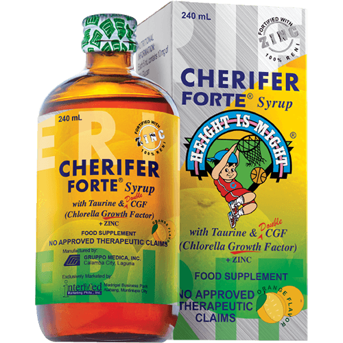 Cherifer Forte Syrup with Taurine & Double CGF